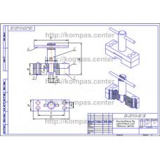 СБ-Z01V3-00 - Приспособление для изготовления шайб