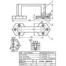 СБ-Z03V1-00 - Ручка дверная