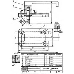 СБ-Z03V2-00 - Ручка дверная
