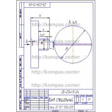 СБ-Z04V5-04 - Винт специальный