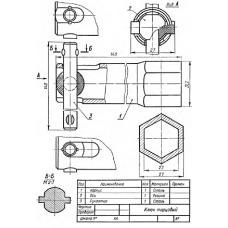 СБ-Z06V3-00 - Ключ торцовый