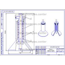 СБ-Z08V3-00 - Кернер с центроискателем