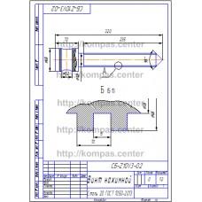 СБ-Z10V3-02 - Винт нажимной