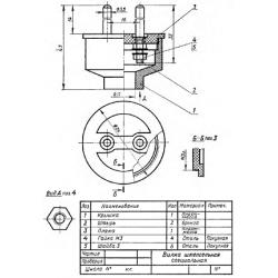 СБ-Z13V1-00 - Вилка штепсельная специальная
