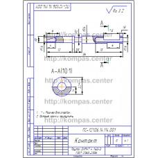 ПС-121.06.14.114.001 - Контакт - чертеж