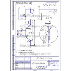 ПС-179.06.12.112.004 - Кронштейн - чертеж