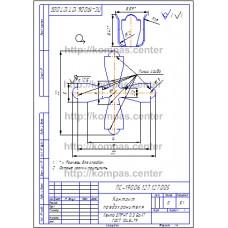 ПС-190.06.127.127.005 - Контакт предохранителя - чертеж