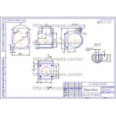 ПС-178.06.13.113.001 - Переходник - чертеж