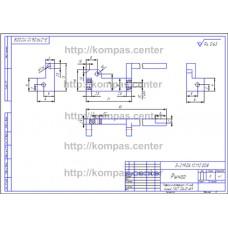 Э-219.06.12.112.008 - Рычаг - чертеж