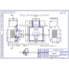 ПС-186.05.12.112.001 - Короб - чертеж