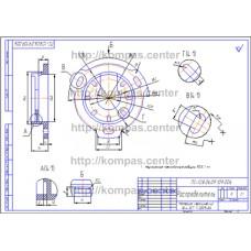 ПС-128.06.09.109.006 - Распределитель - чертеж