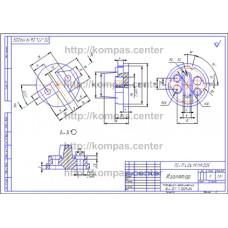 ПС-174.06.19.119.005 - Изолятор - чертеж