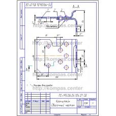 ПС-193.06.04.104.01 - Кронштейн - чертеж