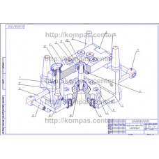 00-000.06.01.01.00 - Кондуктор перекидной изометрия - чертеж