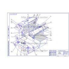 00-000.06.07.07.00 - Патрон специальный изометрия - чертеж