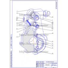 00-000.06.08.08.00 - Механизм храповой диметрия - чертеж
