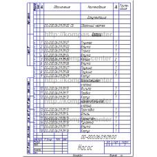 00-000.06.09.09.00 - Насос спецификация