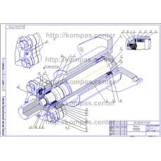 00-000.06.11.11.00 - Механизм натяжения изометрия - чертеж