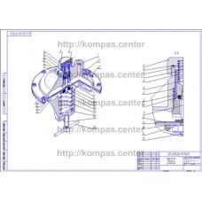 00-000.06.19.19.00 - Регулятор давления изометрия - чертеж