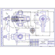 05.000 - Гидроаппарат крановый - чертеж