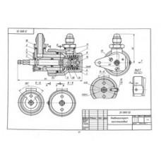 21 Пневмоаппарат золотниковый