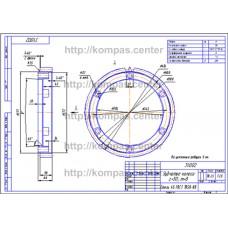31.002 - Зубчатое колесо z=50 m=8