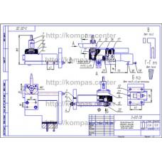 3-00 - Приспособление для обработки вогнутых поверхностей тора