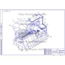 9-00 - Насос густой смазки изометрия - чертеж