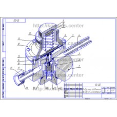 10-00 - Редуктор давления воздуха изометрия - чертеж