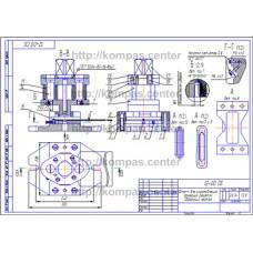 12-00 - Штамп для изготовления фанерных решеток