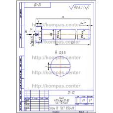 12-10 - Винт А.М14-6gx70-52 ГОСТ 1491-80