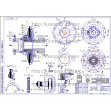 16-00 - Муфта дисковая фрикционная