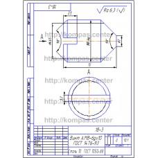 18-3 - Винт А.М8-6gx10 ГОСТ 1476-93