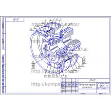 20-00 - Ленточная муфта изометрия - чертеж