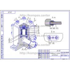 26-00 - Плавающий клапан изометрия - чертеж