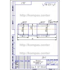 26-1 - Шпилька М24-6gx60 ГОСТ 22032-76