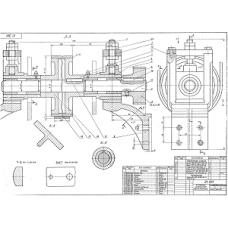 01.001 Натяжное устройство транспортера