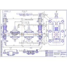 01.012 - Натяжное устройство цепного транспортера