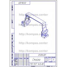 01.016.001 - Стойка изометрия - чертеж