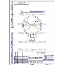 02.012.003 - Кольцо поршневое