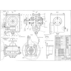 02.022 Редуктор червячный