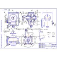 02.022 - Редуктор червячный