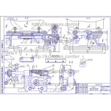 02.025 - Салазки к электродвигателю