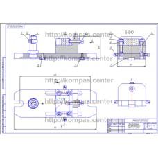 МЧ00.55.00.00 - Приспособление для фрезерования
