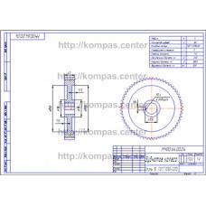 МЧ00.64.00.04 - Зубчатое колесо