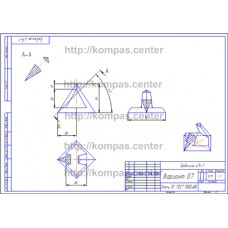 Задание 49-1 - Вариант 07 - чертеж