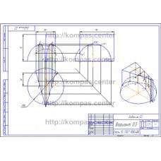 Задание 52 - Вариант 03 - чертеж