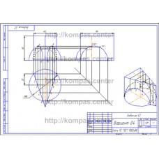 Задание 52 - Вариант 04 - чертеж