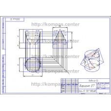 Задание 54 - Вариант 07 - чертеж
