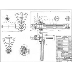 52.09.00.00 Ключ динамометрический, усилие до 118 Дж (12 кгм)